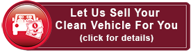 Sell Your Vehicle on Consignment